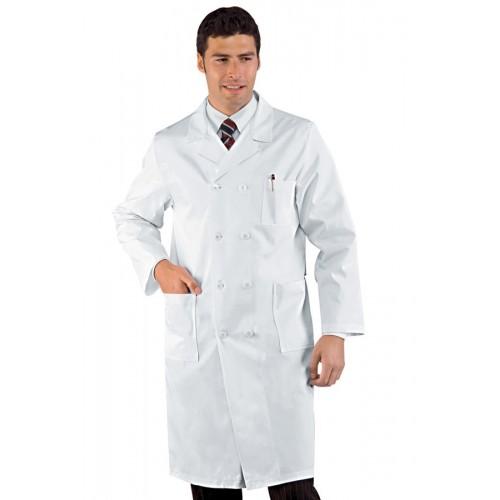 Camice Medico Doppio Petto Cod. 060300 - Bianco