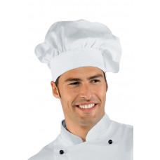Cappello Cuoco - Cod. 075000 - Bianco