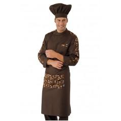 Cappello Cuoco - Cod. 075017 - Cacao