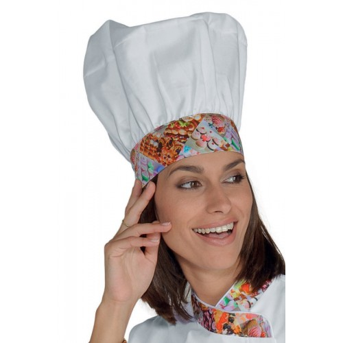 Cappello Cuoco - Cod. 075127 - Delicious