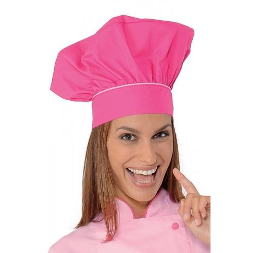 Cappello Cuoco Cod. 075260 - Fuxia+Rosa