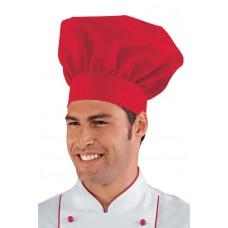 Cappello Cuoco - Cod. 075007 - Rosso