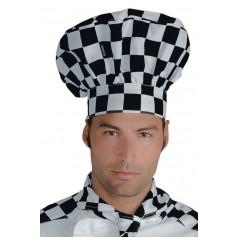 Cappello Cuoco - Cod. 075039 - Scacco