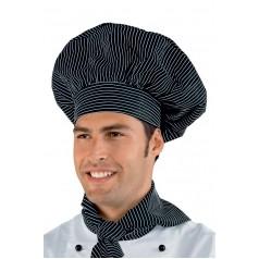 Cappello Cuoco - Cod. 075051 - Vienna Nero
