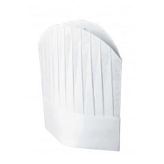 Confezione Cappello Cuoco Tnt Cm 29 (10 Pezzi) - Cod. 075000A - Bianco