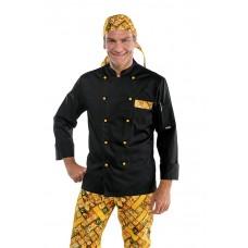Giacca Cuoco Atlanta - Cod. 059618 - Nero+Pasta