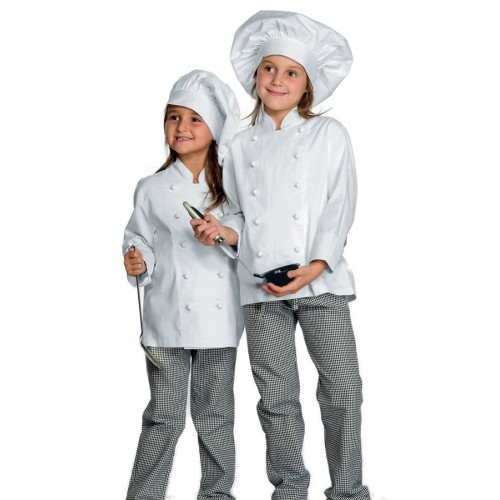 Giacca Cuoco Babychef Cod. 000990 - Bianco