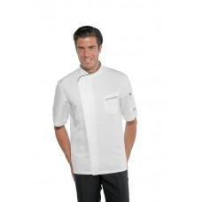 Giacca Cuoco Bilbao Cod. 059330M - Bianco+Nero