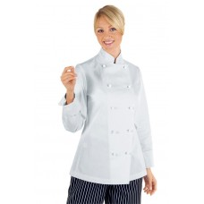 Giacca Lady Chef Bottoni Antipanico Cod. 057500 - Bianco