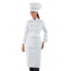 Giacca Lady Chef - Cod. 057510 - Bianco+Italy