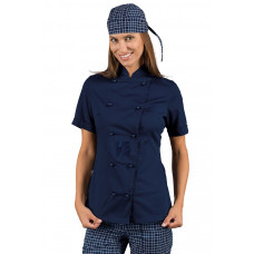 Giacca Lady Chef - Cod. 057502M - Blu