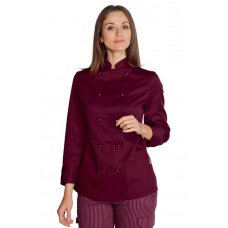 Giacca Lady Chef - Cod. 057503 - Bordeaux