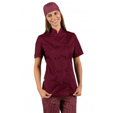 Giacca Lady Chef - Cod. 057503M - Bordeaux