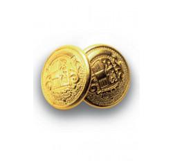 Bottoni Gemello Oro+Oro