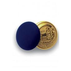 Bottoni Gemello Oro + Colore - Cod. 123202 - Blu