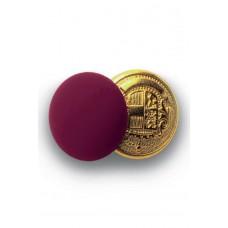 Bottoni Gemello Oro + Colore - Cod. 123203 - Bordeaux