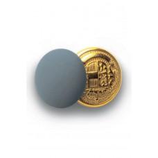 Bottoni Gemello Oro + Colore - Cod. 123212 - Grigio