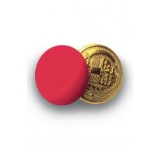 Bottoni Gemello Oro + Colore - Cod. 123207 - Rosso