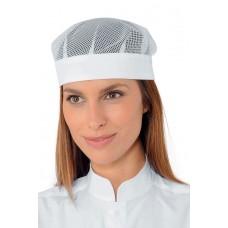 Cappello Bob Con Rete Cod. 078310 - Bianco