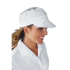 Cappello Charly Con Rete Cod. 077000 - Bianco