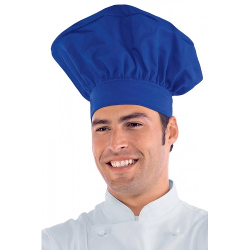 Cappello Cuoco - Cod. 075006 - Blu Cina