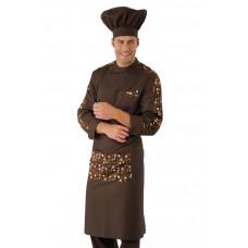 Cappello Cuoco Cod. 075017 - Cacao