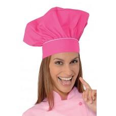 Cappello Cuoco - Cod. 075260 - Fuxia+Rosa