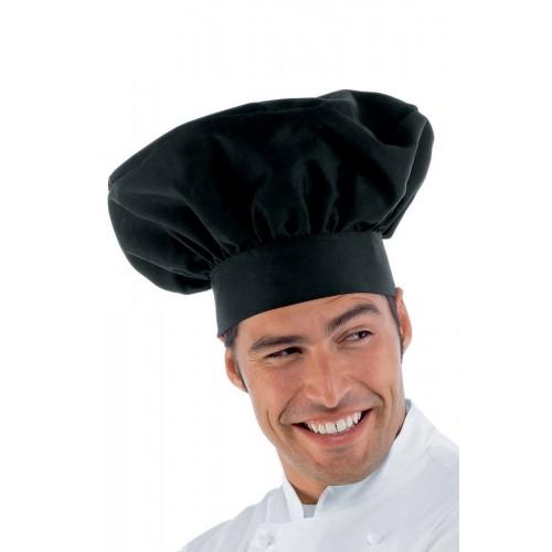 Cappello Cuoco - Cod. 075001 - Nero