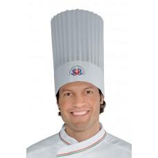 Cappello Cuoco Tnt Cm 30 F.i.c. - Cod. 074097 - Bianco+Italy