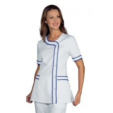 Casacca Brasilia Cod. 005806 - Bianco+Blu Cina
