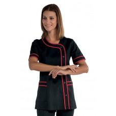 Casacca Brasilia Cod. 005807 - Nero+Rosso
