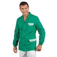 Casacca Carson Cod. 036604 - Verde+Riga Verde