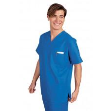 Casacca Collo A V Cod. 045400 - Azzurro Ospedale