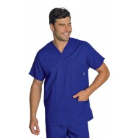 Casacca Collo A V Cod. 045022 - Blu