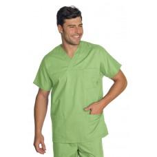 Casacca Collo A V Cod. 045726 - Verde Mela