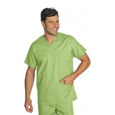 Casacca Collo A V Cod. 045426 - Verde Mela