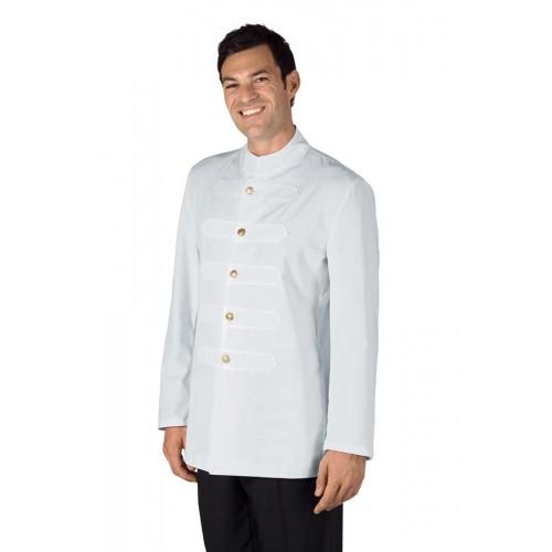 Coreana Con Alamari Cod. 066700 - Bianco