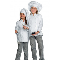 Giacca Cuoco Babychef - Cod. 000990 - Bianco