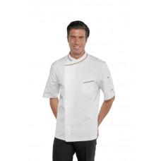 Giacca Cuoco Bilbao Cod. 059310M - Bianco+Italy