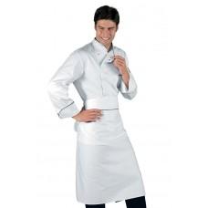 Giacca Cuoco Bilbao Cod. 059321 - Bianco+Nero