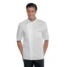 Giacca Cuoco Bilbao Cod. 059321M - Bianco+Nero