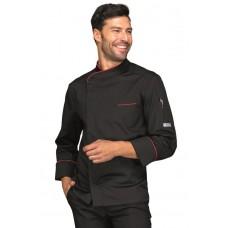 Giacca Cuoco Bilbao Cod. 059337 - Nero+Rosso