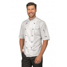 Giacca Cuoco California - Cod. 058330M - Bianco+Nero