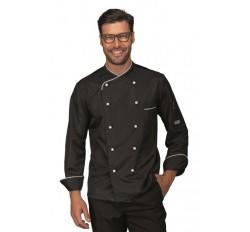 Giacca Cuoco California Cod. 058331 - Nero+Bianco
