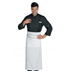 Giacca Cuoco Classica Bottoni A Pressione Cod. 059019 - Nero