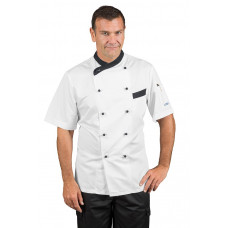 Giacca Cuoco Giza - Cod. 057411M - Bianco+Nero
