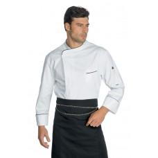 Giacca Cuoco Wimbledon Cod. 059811 - Bianco+Nero