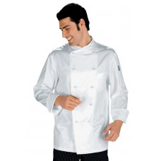 Giacca Cuoco Monaco Cod. 057450 - Bianco
