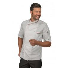 Giacca Cuoco Panama Cod. 058210M - Bianco+Italy