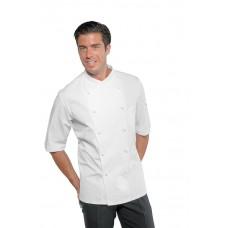 Giacca Cuoco Panama Cod. 058200M - Bianco